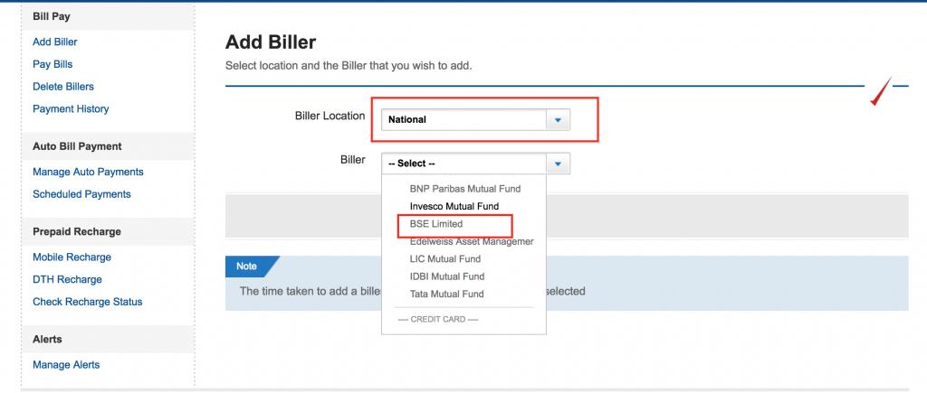 Add Yes Biller Step 3